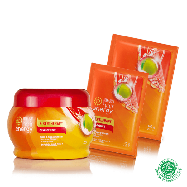 Hair Energy Hair & Scalp Creambath Olive Extract